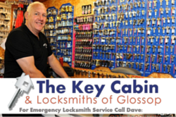 locksmith near me. the key cabin glossop. emergency locksmith,
