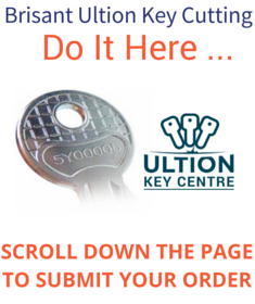 Brisant Ultion Spare Key Cutting - ultion spare keys